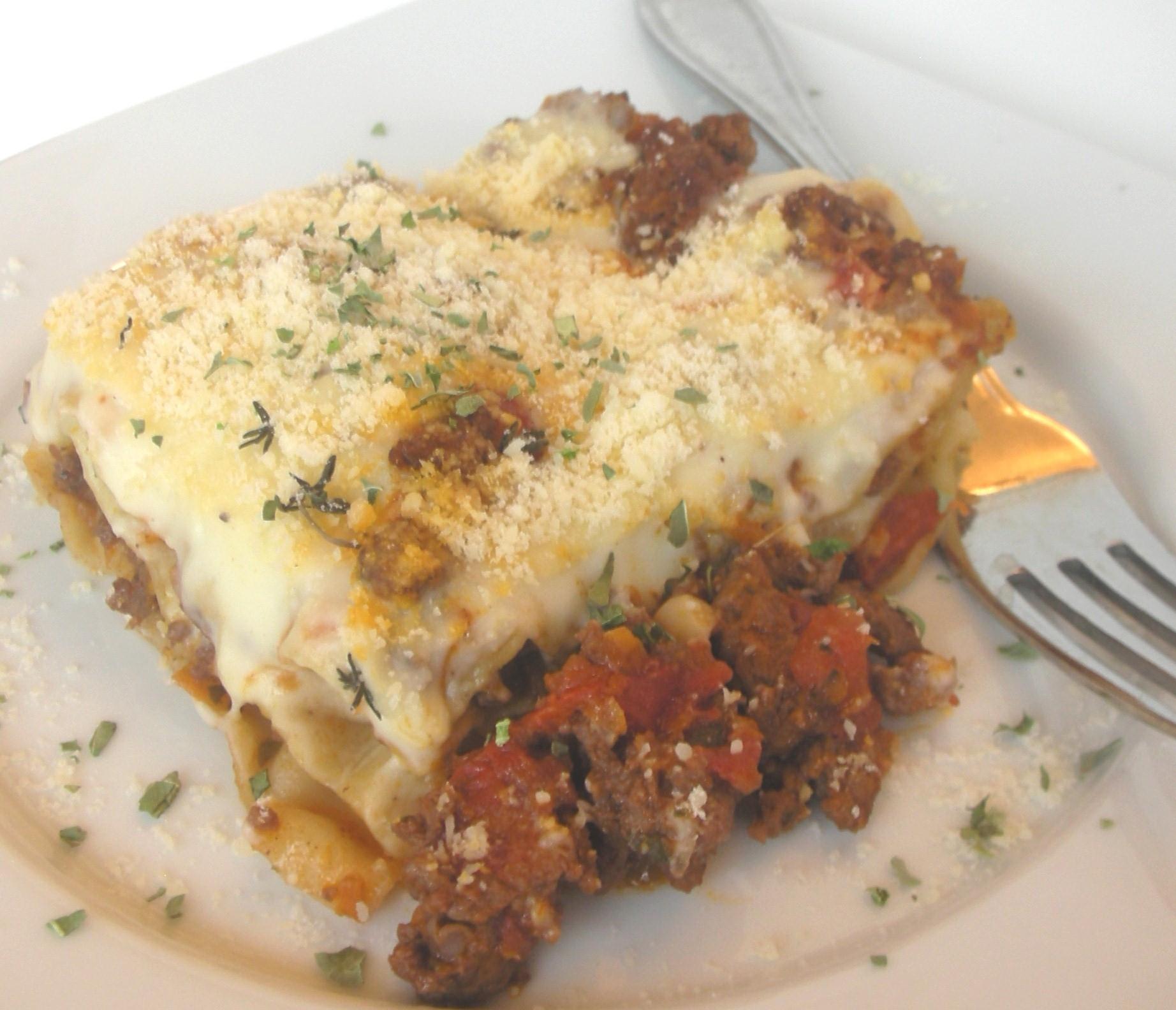 Classic Lasagne Classic Lasagna Al Forno Get Cooking With Clint
